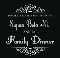 Sigma Beta Xi Family Dinner