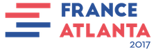 France-Atlanta 2017 logo
