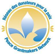 Réseau des donateurs pour la paix / Peace Grantmakers Network logo