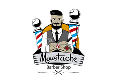 Moustache Barber Shop  logo