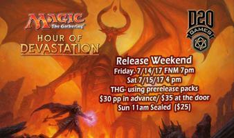 Sun 11am Hour of Devastation Release-Sealed Starter