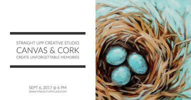 Canvas & Cork | Bird Nest