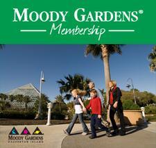 Moody Gardens Memberships logo