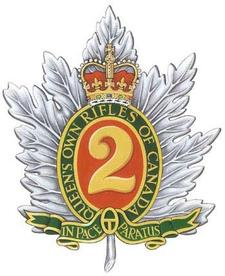 The Queen's Own Rifles of Canada Regimental Museum logo