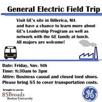 85 Broads Presents: General Electric Field Trip