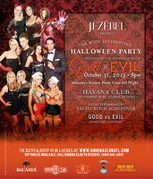 Jezebel Halloween Party 2013 at Havana Club