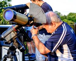 Members Solar Observing at the Royal Observatory...