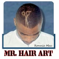 Mobile Salon NETWORK - 'Mr. Hair Art' Ronnie Mac  logo
