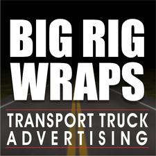 Big Rig Wraps Transport Truck Advertising logo