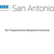 HDI San Antonio Local Chapter logo
