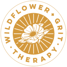 Wildflower + Grit Therapy logo