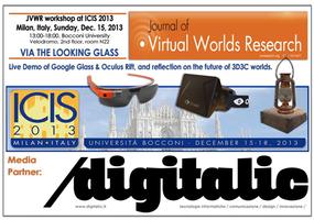 Via the Looking Glass: Demo Google Glass, Oculus Rift...