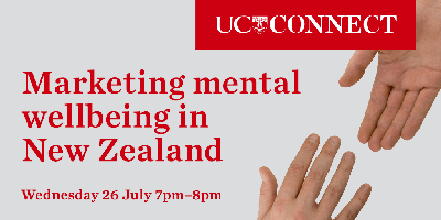 UC Connect: Marketing mental wellbeing in New Zealand