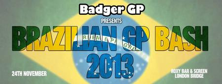 Badger's Brazilian GP Bash 2013