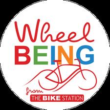 Wheelbeing @ The Glasgow Bike Station logo