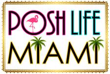 Posh.Life.Miami // Eva Peralta logo