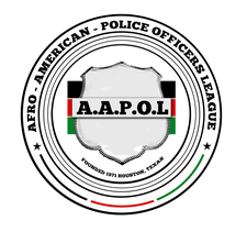 Afro-American Police Officers League logo