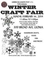 6th Annual Leonia Winter Craft Fair