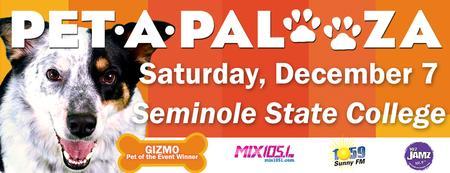 Third Annual Pet-A-Palooza