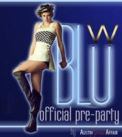 Official Blue at the W Pre-Party