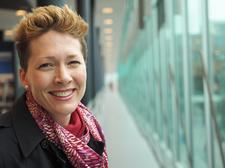 Linda Graanoogst, licentiehouder TEDxAlmere logo