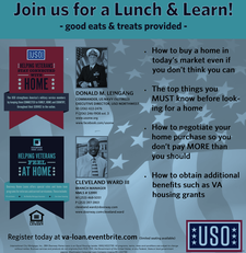 VA Home Buying Lunch & Learn  logo
