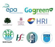 GO GREEN EX  in partnership with NEAR Health, NUI Galway and DIT. logo