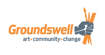 Groundswell Community Mural Project logo