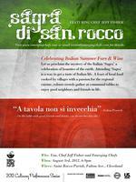 'Sagra Di San Rocco' - Chef Fisher's Italian Feast!