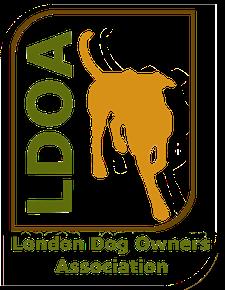 LDOA: London Dog Owners' Association logo