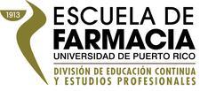División de Educación Continua y Estudios Profesionales - Escuela de Farmacia, RCM-UPR logo