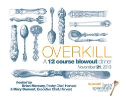 OverKill, a Blowout Tasting Event to Benefit Lovin'...