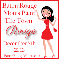 Baton Rouge Moms Paint the Town Rouge
