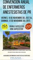 Convención de Enfermeros(as) Anestesistas de Puerto Rico