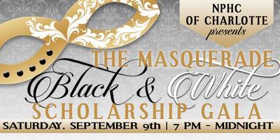 "NPHC of Charlotte ""The Masquerade"" Black & White Gala"