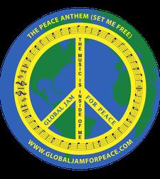 The Global Jam 4 Peace logo