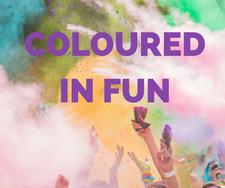 Coloured in Fun Committee logo