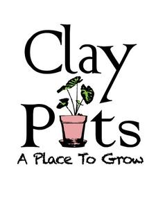 Clay Pots...A Place to Grow logo