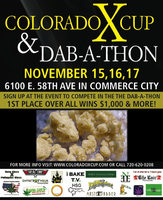 Colorado X Cup & DAB-A-THON Dabbing Olympics