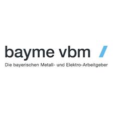 bayme vbm - Die bayerischen Metall- und Elektro-Arbeitgeber logo