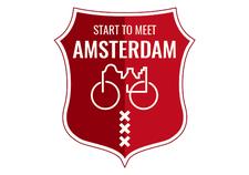 Start to meet Amsterdam logo