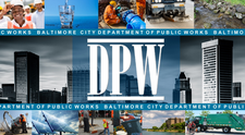 Baltimore City Department of Public Works, Office of Engineering and Construction logo