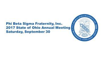 2017 Phi Beta Sigma State of Ohio Annual Meeting