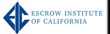 Escrow Insitute of California logo