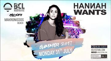 Beach Cult Live presents Hannah Wants JULY 31st