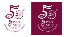 St. Mary School Choir and Orchestra Program logo