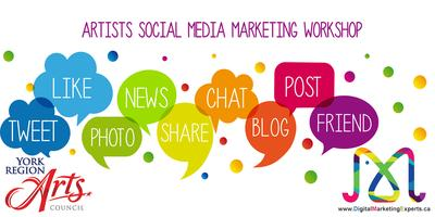 ARTISTS SOCIAL MEDIA MARKETING WORKSHOP