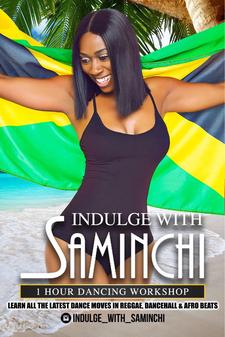 Indulge With SaMinchi logo