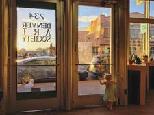 The Denver Art Society  logo