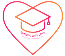 Running With Love, a 501(c)3 Non-Profit Organization logo